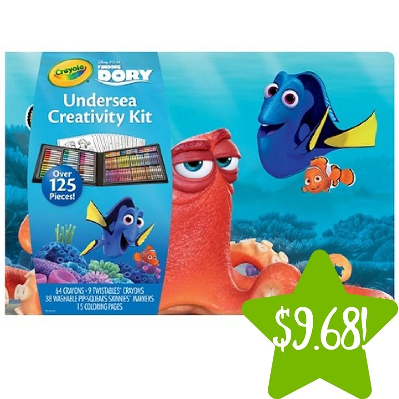 Target: Crayola Finding Dory Undersea Creativity Kit Only $9.68 (Reg. $19.36)