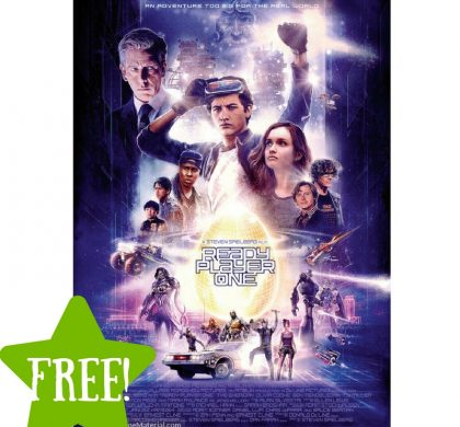 FREE Passes to a Screening of Ready Player One