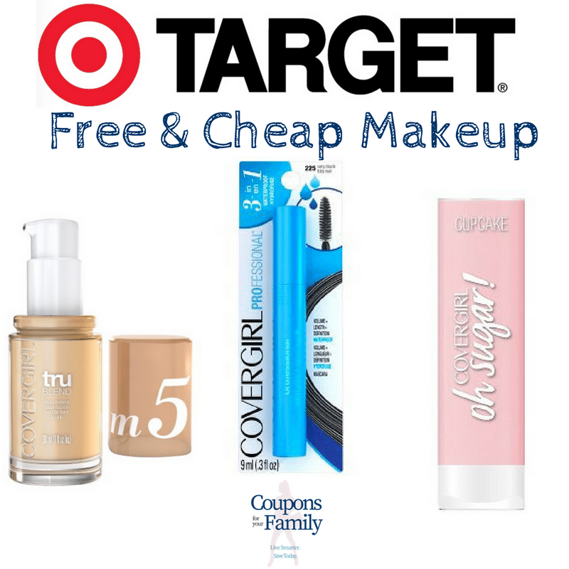 Who wants FREE & Cheap Covergirl Makeup?  Head over to Target with new Covergirl Coupon!!