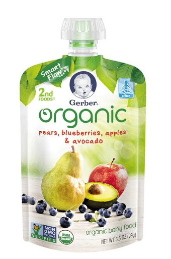 Target: Gerber Organic Pouches Only $0.91!