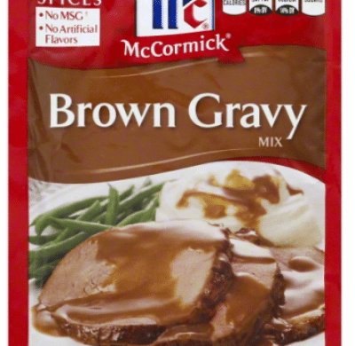 Wegmans: McCormick Gravy Mix Only $0.20!