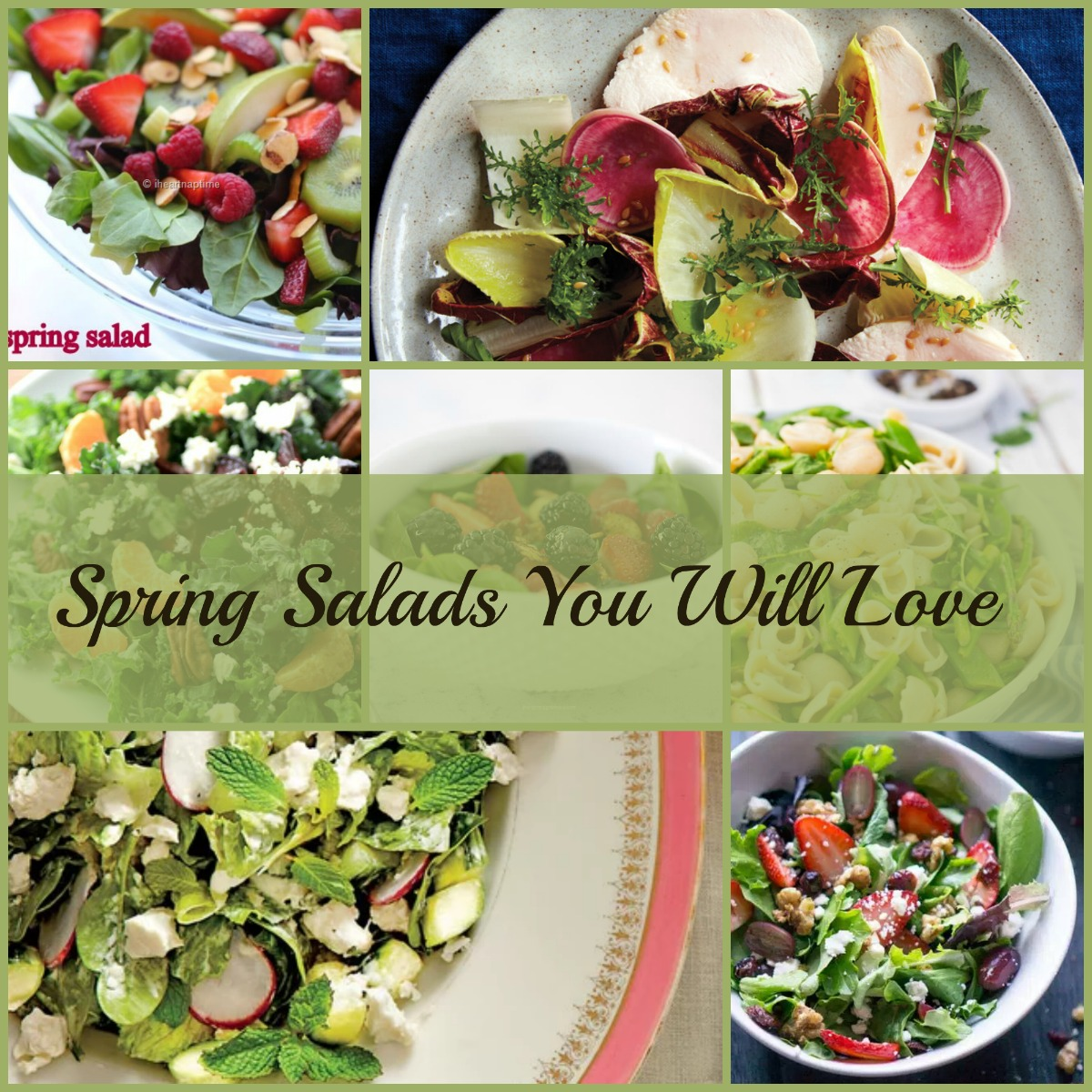 Need a new Spring Salad Recipe? Check out 9 of our favorites here!