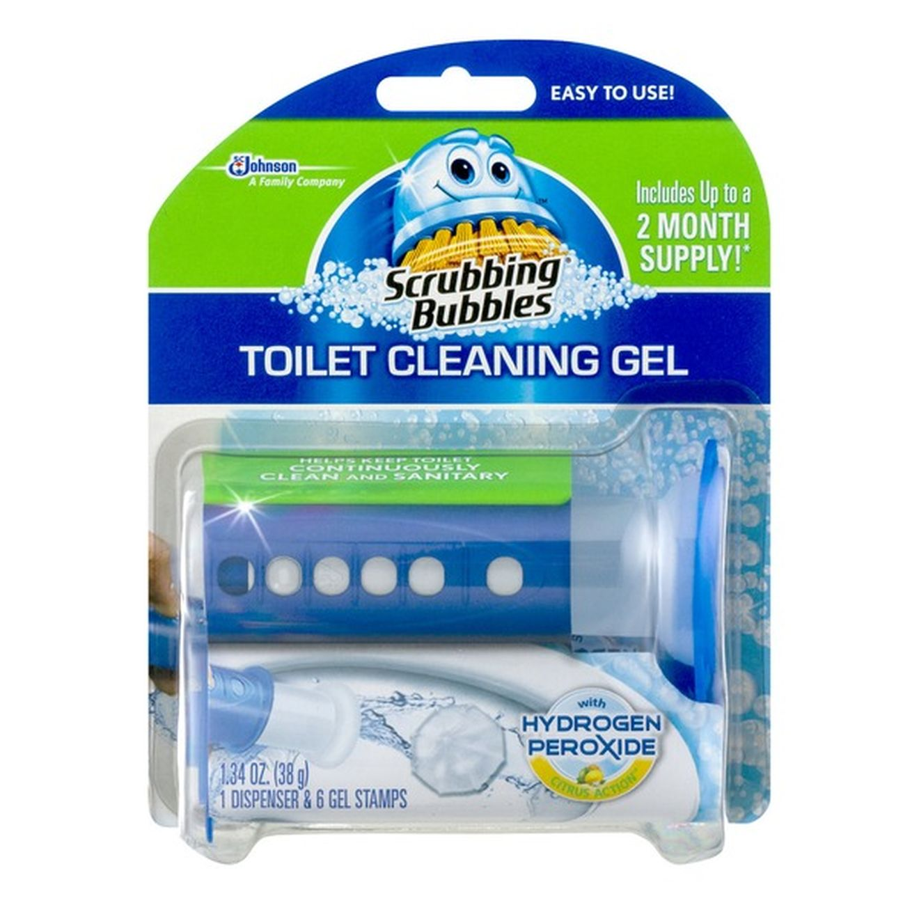Tops Markets: Scrubbing Bubbles Toilet Gel 6 count only $1 this week!