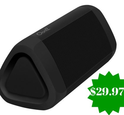Amazon: OontZ Angle 3 Plus Edition 10W Portable Bluetooth Speaker Only $29.97 (Reg. $100)