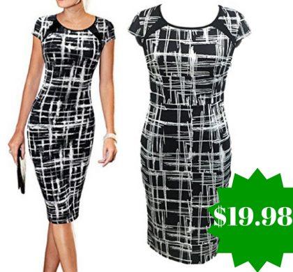Amazon: LunaJany Women's Casual Striped Dress Only $19.98