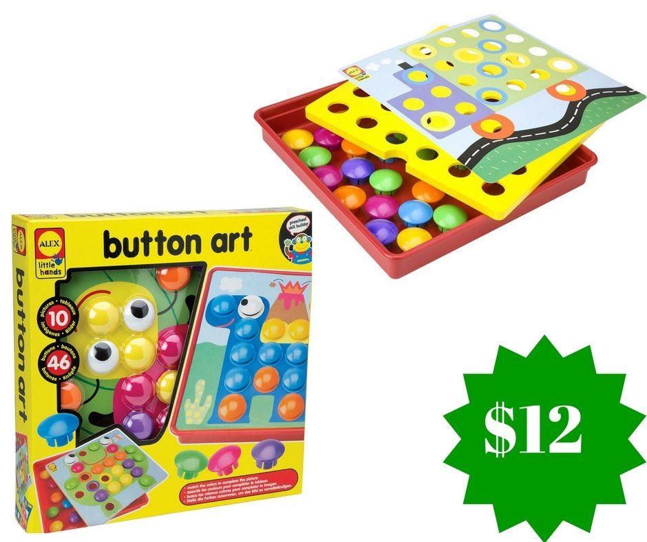 Amazon: ALEX Toys Little Hands Button Art Only $12 (Reg. $26.50)