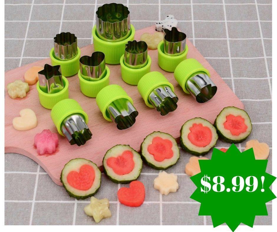 Amazon: Vegetable Cutter Shapes Set Only $8.99 (Reg. $20)