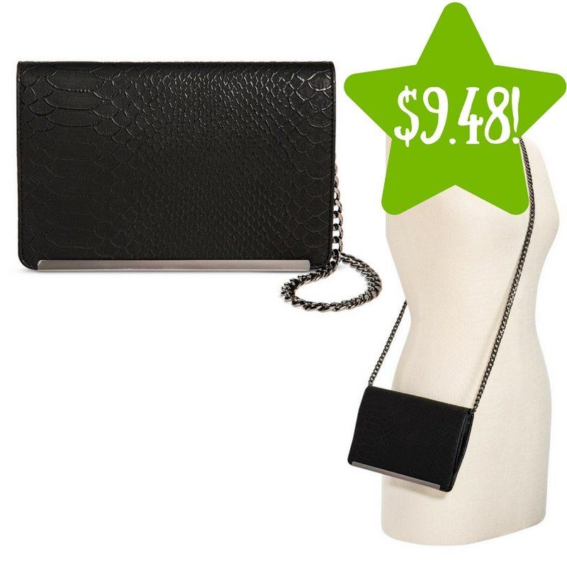 Target: Women's Faux Leather Crossbody Handbag Only $9.48 (Reg. $19)
