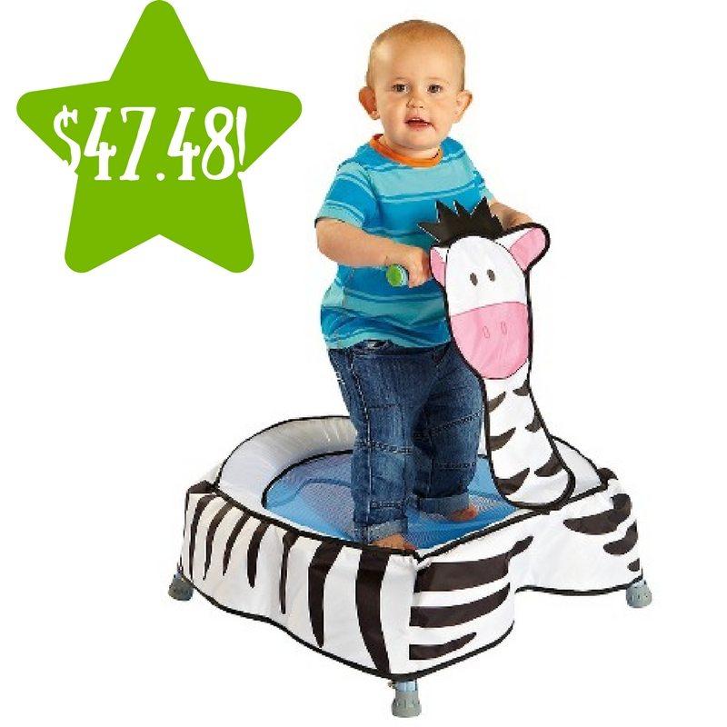 Target: Diggin Boing Boing Zebra Toddler Trampoline Only $47.48 (Reg. $95)