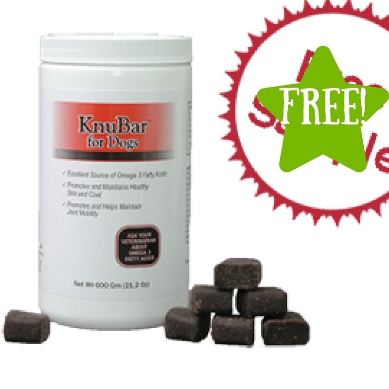 FREE Sample of KnuBar Dog Treats