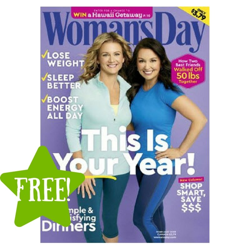 FREE Woman's Day Magazine Subscription