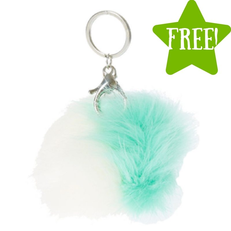 FREE Pom Keychain with the Justice App