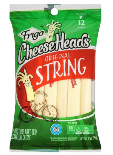 Tops: Frigo Cheese Heads Only $2.99 {Just $0.25 per Stick!}!