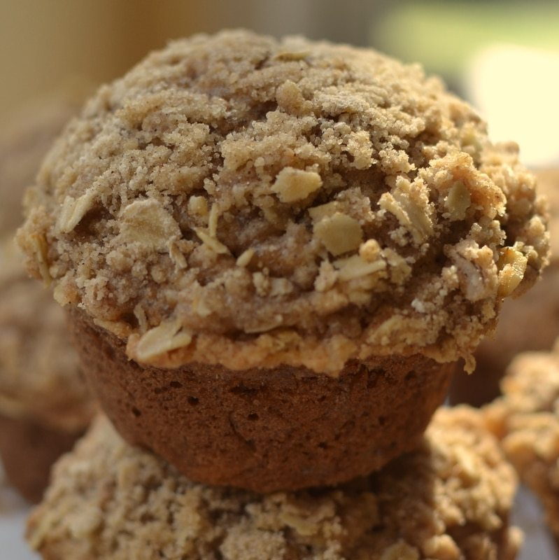mothers day brunch apple spice crunch muffins