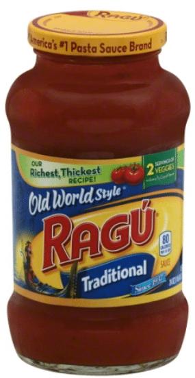 Wegmans: Ragu Pasta Sauce Only $1.04!
