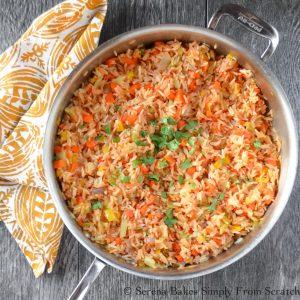 restaurant style rice