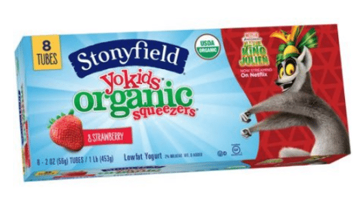 Walmart: Stonyfield Kids Yogurt Only $1.53!
