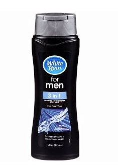 Dollar General: White Rain Men's 3-in-1 Shampoo Only $0.75!