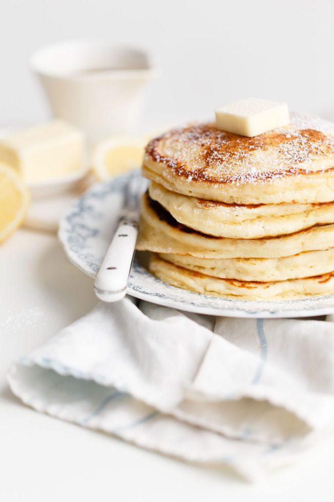 mothers day brunch lemon pancakes
