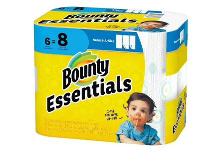 Dollar General: Bounty Essentials Paper Towels Only $1.95!