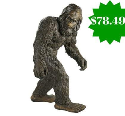 Amazon: Design Toscano Yeti the Bigfoot Garden Statue Only $78.49 Shipped (Reg. $162, Today Only)