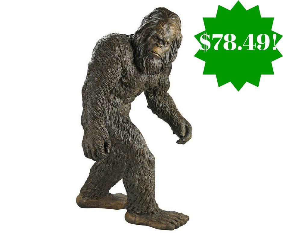 Amazon: Design Toscano Yeti The Bigfoot Garden Statue Only $78.49 Shipped  (Reg. $162