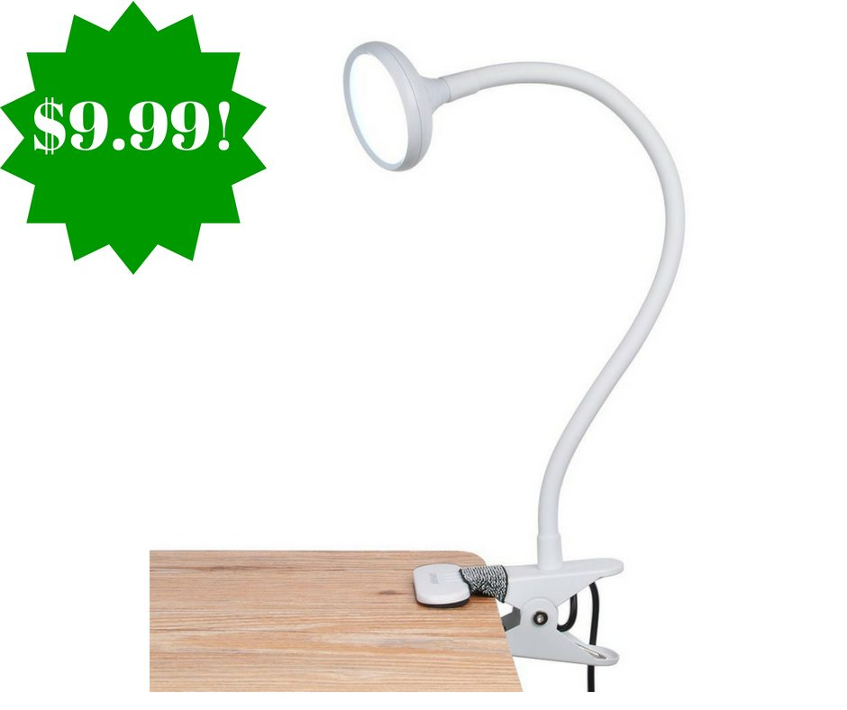 Amazon: LEPOWER LED Clip On Lamp Only $9.99 (Reg. $42)