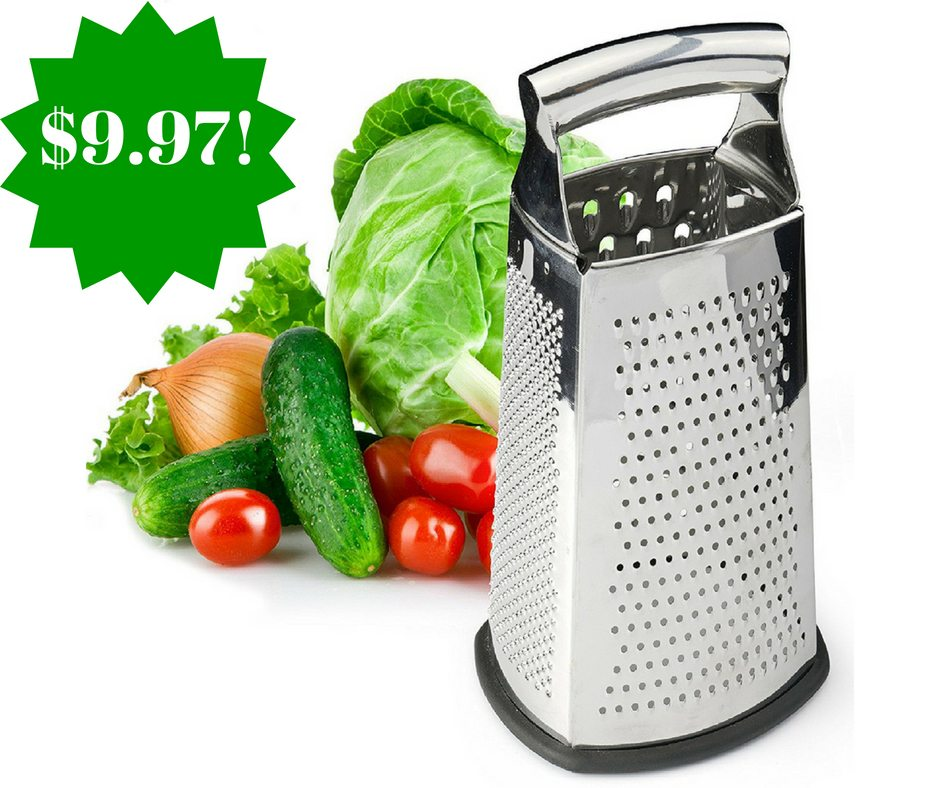Amazon: Spring Chef Box Grater Only $9.97 (Reg. $30)