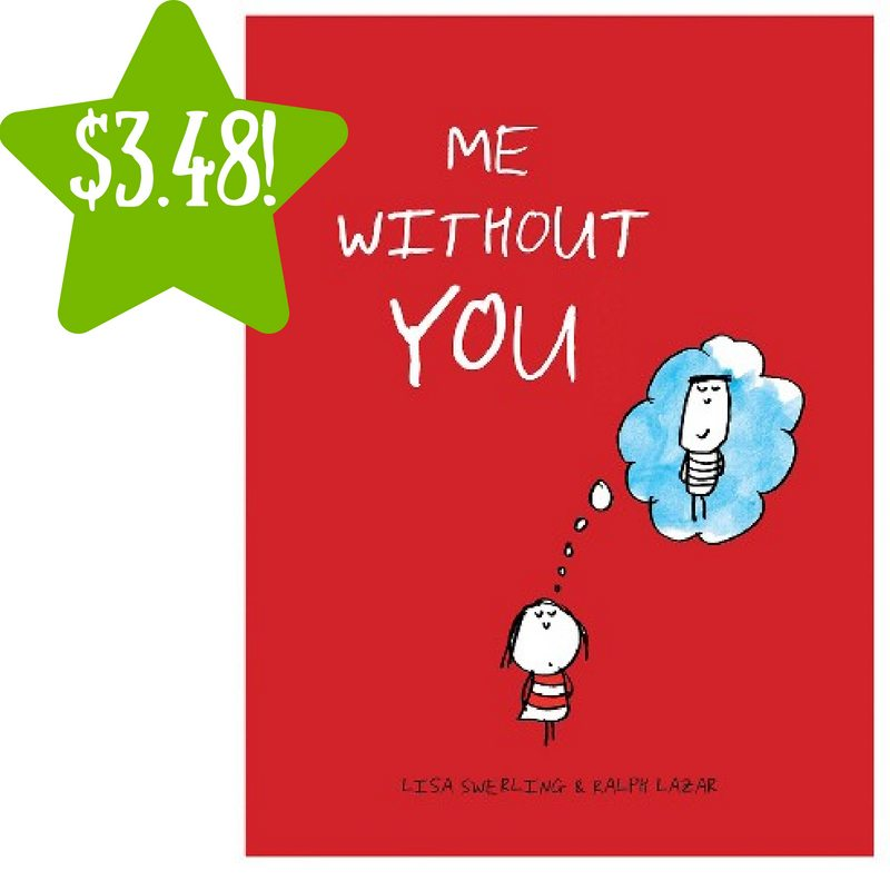 Target: Chronicle Books Me Without You Hardcover Only $3.48 (Reg. $6.47)