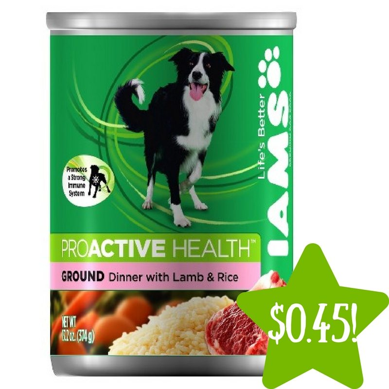 Target: Iams ProActive Health Wet Dog Food Only $0.45 (Reg. $1.29)