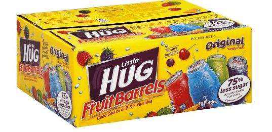 Target: Little Hug Fruit Barrels Only $1.99!