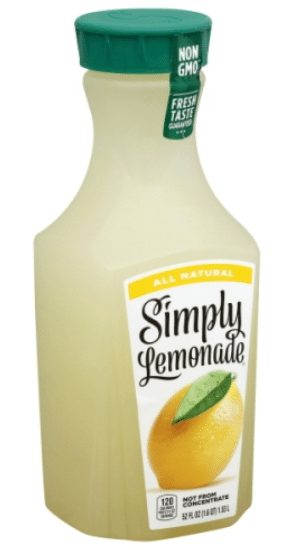 Wegmans: Simply Lemonade Only $1.29!