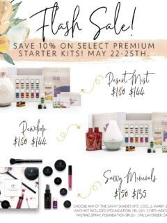 Savvy minerals and YL Premium Kit Sale