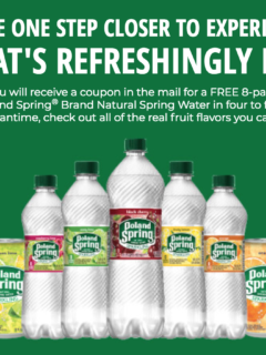 free spring water