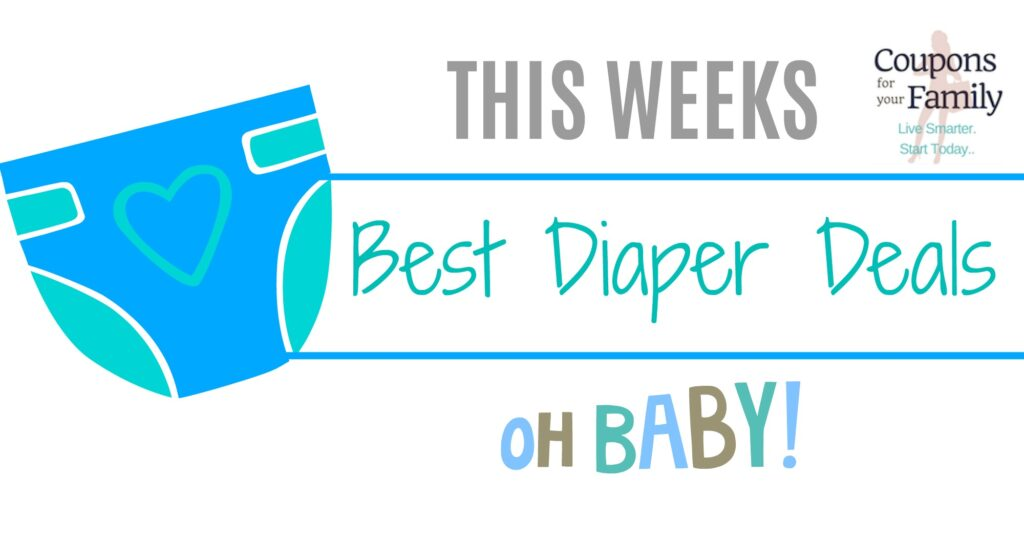 Best Diapers Deals this week