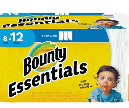 Target: Bounty Essentials Paper Towels Only $1.99!