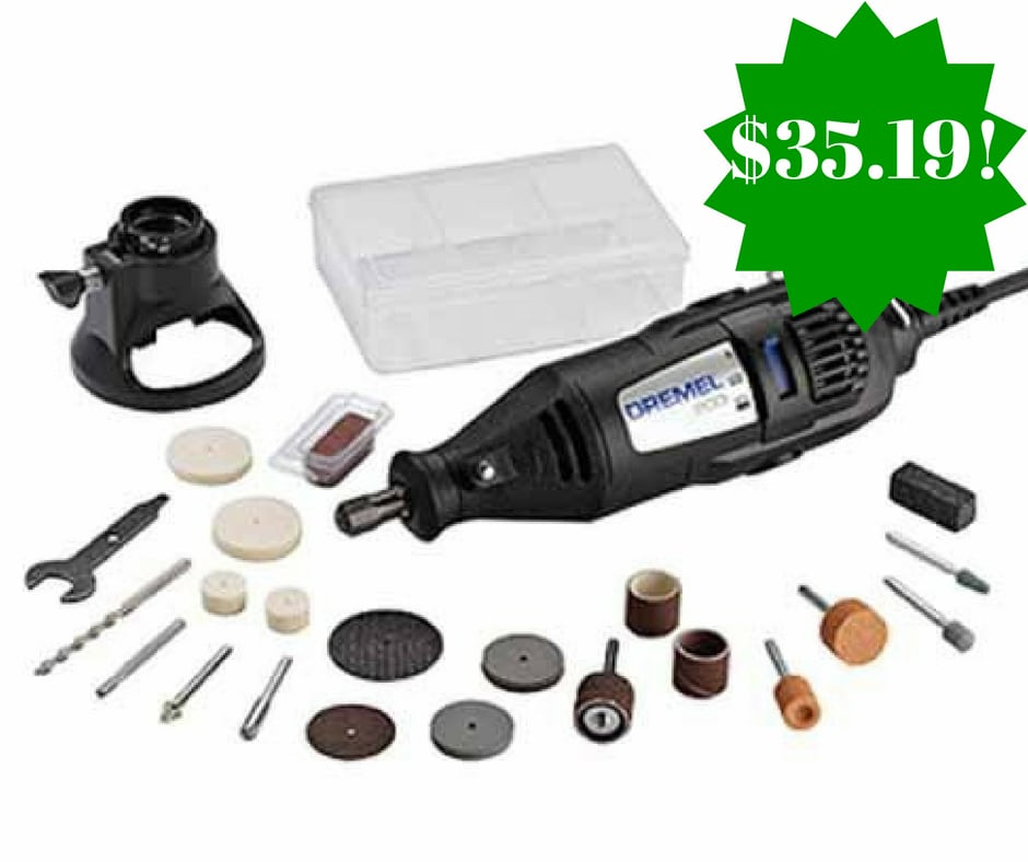 Amazon: Dremel 200-1/21 Two-Speed Rotary Tool Kit Only $35.19 (Reg. $55, Today Only)