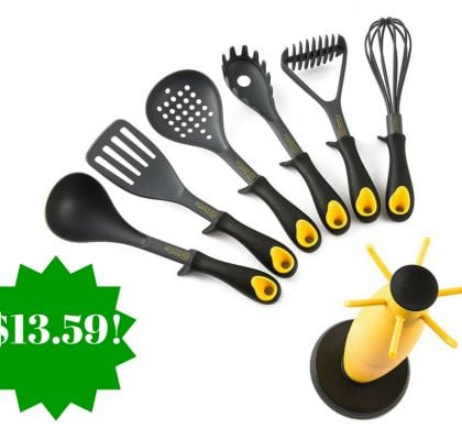 Amazon: Zestkit 7 Piece Kitchen Utensils Set Only $13.59 (Reg. $40)
