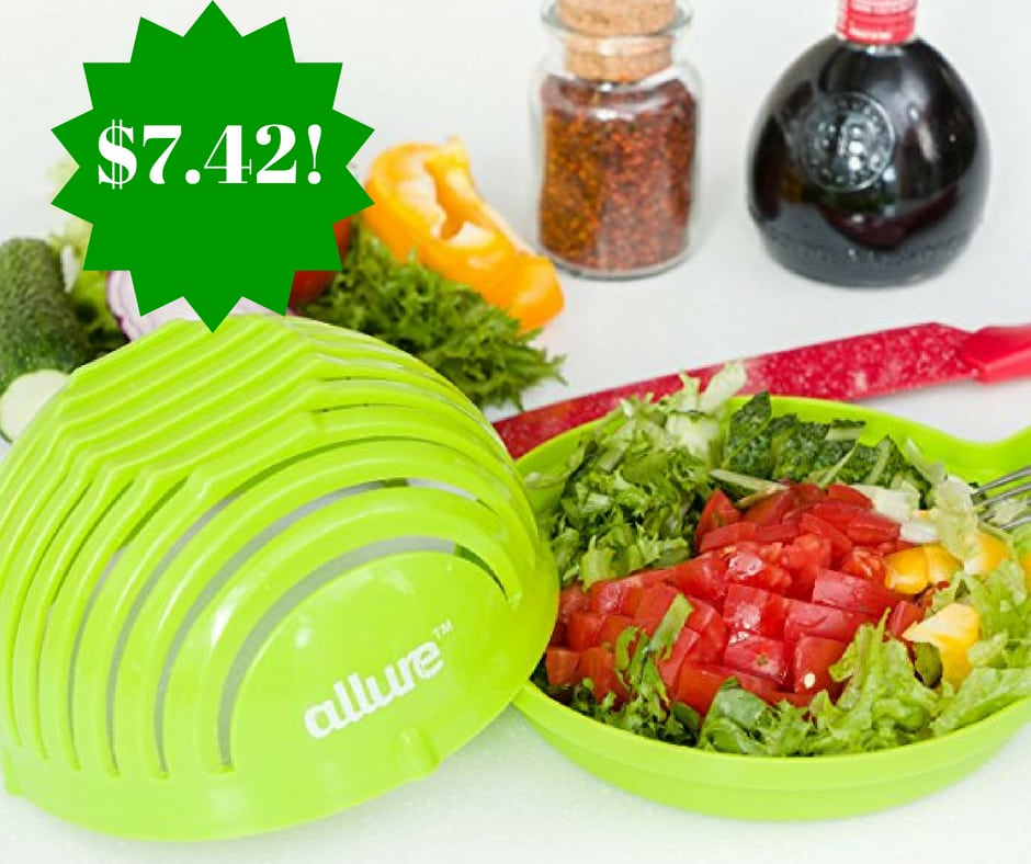 Amazon: Salad Cutter Bowl Only $7.42 (Reg. $40)