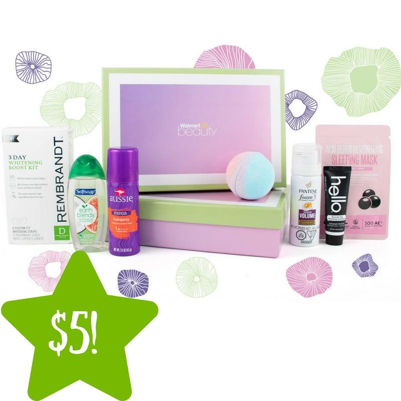 Walmart: Beauty Box Only $5.00 Shipped