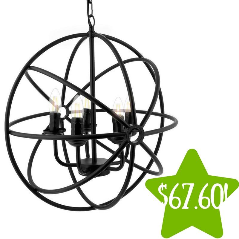 Walmart: Industrial Style 5 Lights Ceiling Chandelier Only $67.60 (Reg. $128)