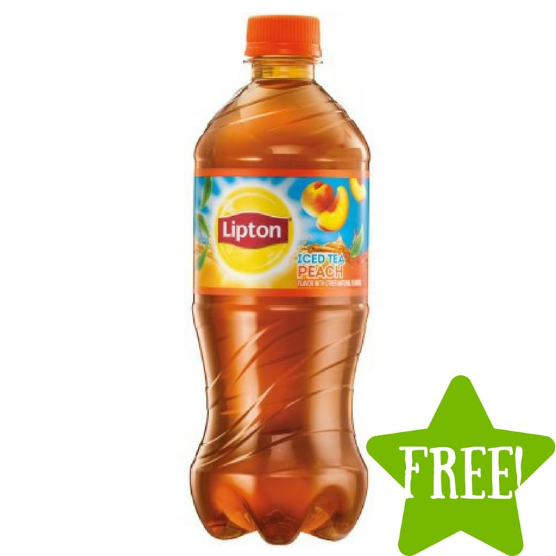 FREE Bottle of Lipton Tea on June 10th
