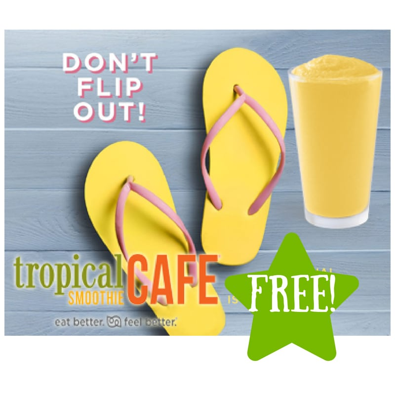 FREE Smoothie at Tropical Smoothie Cafe (Today Only)