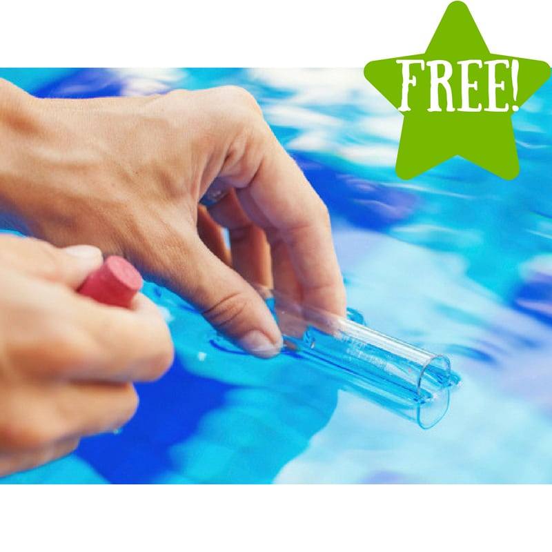 FREE Healthy Pools Pool Test Kit
