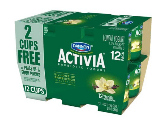Walmart: Dannon Activia Yogurt Cups Only $3.12 {Just $0.26 per Cup!}!