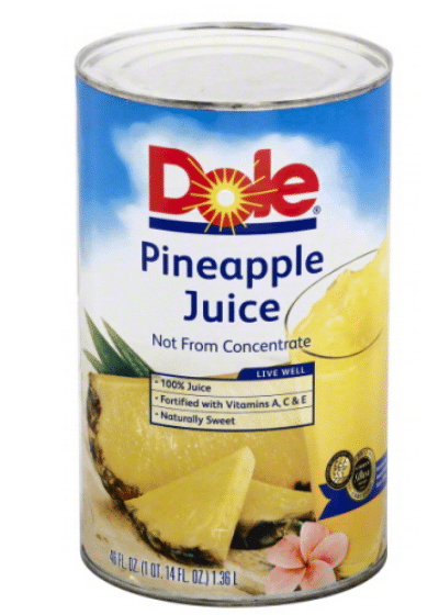 Wegmans: Dole Canned Pineapple Juice Only $1.29!