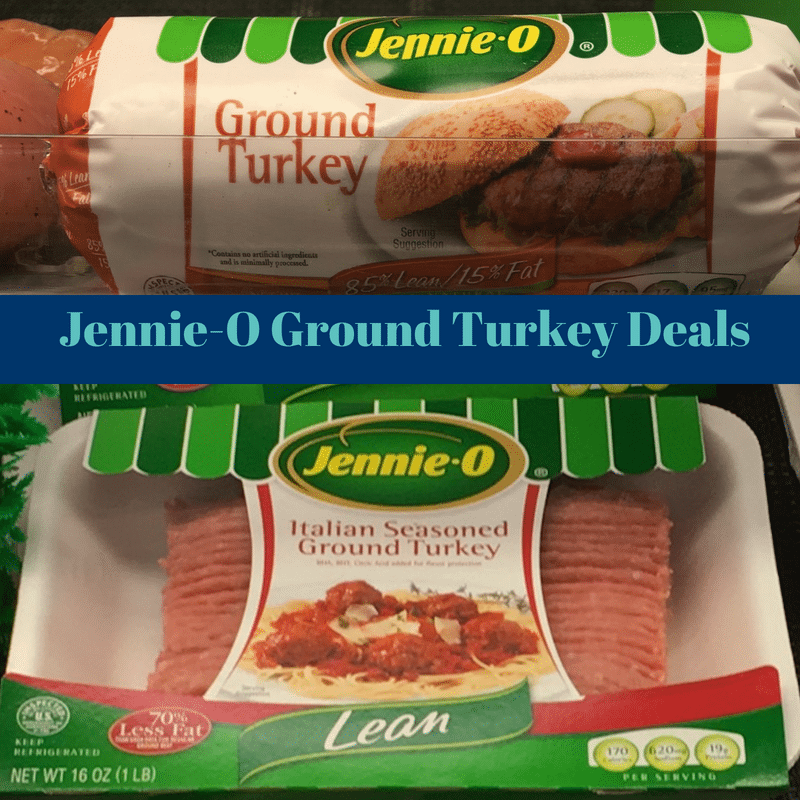 Get Jennie-O Ground Turkey for only $2.19 with coupon plus new deal starting 7/1 at Tops!