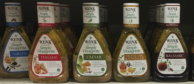 Kens Salad Dressing as low as $.49 with deals at Price Chopper, Wegmans and Tops!