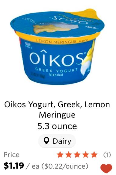 Wegmans Oikos yogurt coupon deal