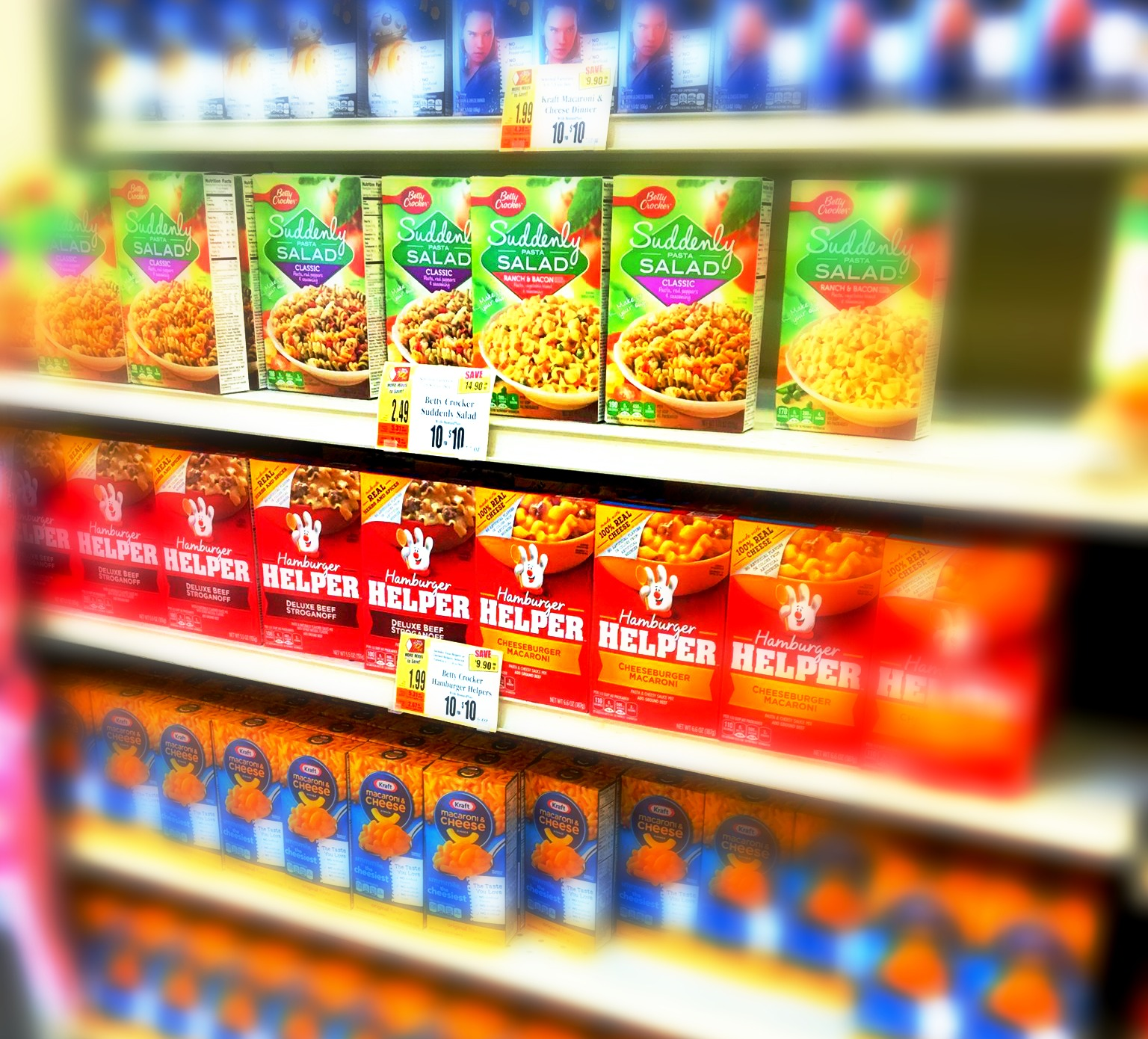 Suddenly Salad and Betty Crocker Helpers only $.75 at Tops~~ends Saturday 6/2!